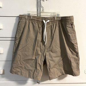 2/$30 🩳 elastic khaki shorts